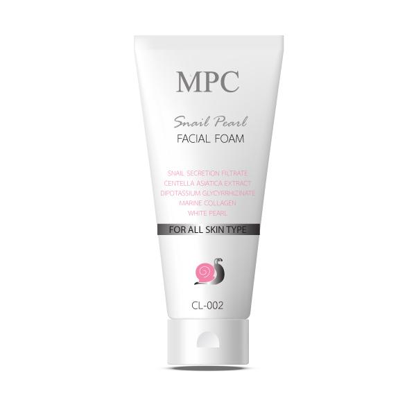 Pearl & Oil Organic facial foam